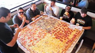 Competitive Eaters Versus Wreckless Eaters in Big Mama