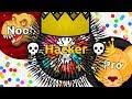 NOOB vs PRO vs HACKER in Agma.io ( Game ...mp3