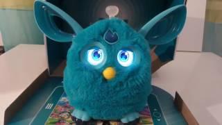 Новый Furby connect на русском. Вики Сара
