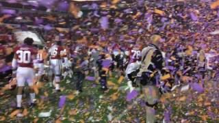 Alabama leaves the field after losing to Clemson