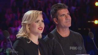 Demi Lovato and Simon Cowell - Funniest moments on The X Factor - Season 3 (4/8) LEGENDADO