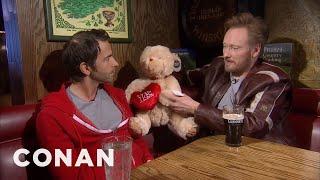 Conan & Jordan Schlansky Talk About Love 02/15/11  - CONAN on TBS