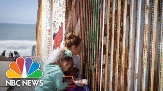 Families Reunite At U.S.-Mexico Border At Friendship Park | NBC News