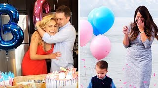 THE BEST REACTIONS FROM GENDER REVEALS   COMPILATION