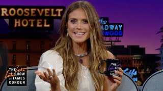 "Heidi Klum Has Had Lots of ""Hand"" ""Jobs"""