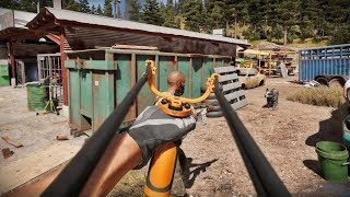Far Cry 5 Stealth Kills (Outpost,Hostage Rescue)