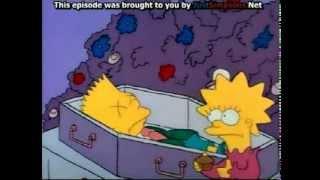 Bart Simpson dies.. - funeral scene