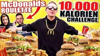 10.000 KALORIEN CHALLENGE I ANSAGE AN INSCOPE21 & APECRIME I McDonalds Roulette