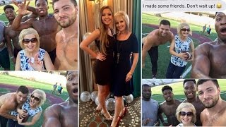 Why This Mom Took Selfies With Shirtless Football Players in College
