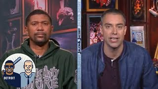 Jalen Rose: Pressure 'squarely on' the Houston Rockets in Game 4| Jalen & Jacoby | ESPN