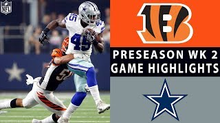 Bengals vs. Cowboys Highlights | NFL 2018 Preseason Week 2
