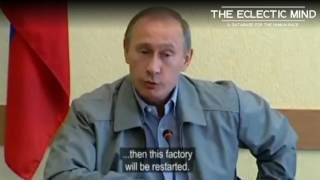 """Putin Calls Billionaire Oligarchs """"Cockroaches"""" For Closing Factory Live On Camera"""