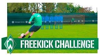 Freistoß-Challenge Teil 2: Zlatko Junuzovic vs Izet Hajrovic I Werder Bremen