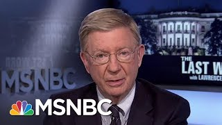 George Will: Democrat Doug Jones Deserves To Win Over Roy Moore | The Last Word | MSNBC