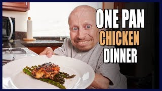 How To Cook: Easiest One Pan Chicken Dinner