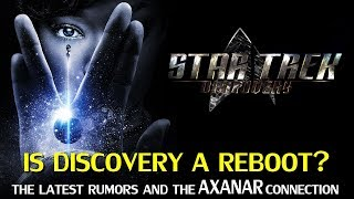 Star Trek Discovery: A Reboot, and The Axanar Connection
