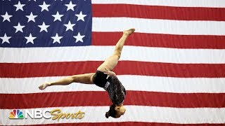 16-year-old Suni Lee finishes 2nd to Simone Biles at US Nationals | NBC Sports