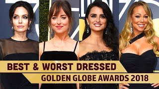 Kendall Jenner, Angelina Jolie: Best and Worst dressed from The 75th Golden Globe Awards
