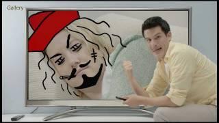 LG Pentouch Plasma TV PZ850