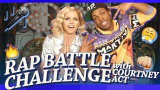 Rap Battle Challenge w/ Courtney Act