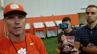 TigerNet.com - Brent Venables talks spring part one