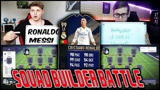 RONALDO TOTY Prediction SQUAD BUILDER BATTLE vs. RealFifa! ⛔️🔥 Fifa 18 Ultimate Team Deutsch