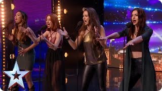 Icy Fire! Girl group puts new spin on Ed Sheeran classic | Britain