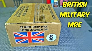 Testing British Military MRE (24Hr Combat Food Ration)