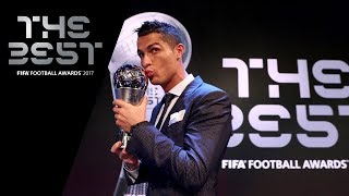 Cristiano Ronaldo reaction - The Best FIFA Men