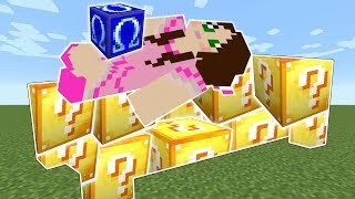 Minecraft: OMEGA LUCKY BLOCK BEDWARS! - BEATING POPULARMMOS