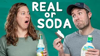 Real vs. Soda Challenge #2 // Disgusting or Delicious?