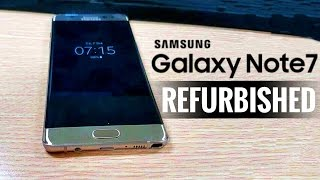 Refurbished Galaxy Note 7 Leaked | Galaxy S8 TV AD for USA