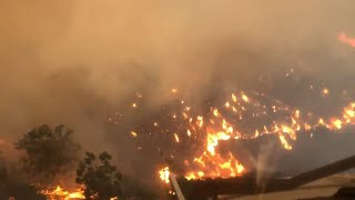 Nueve muertos y 35 desaparecidos en incendios de California