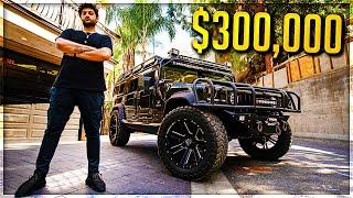 MY NEW $300,000 CAR HUMMER H1 *MILITARY GRADE*