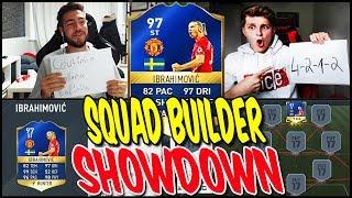 FIFA 17 - 97 TOTS IBRAHIMOVIC SQUAD BUILDER SHOWDOWN vs WAKEZ ⛔️⚽ - FIFA 17 ULTIMATE TEAM (DEUTSCH)