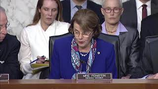 Feinstein at Sessions hearing