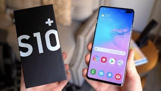 Samsung Galaxy S10+ Unboxing!