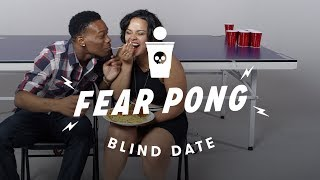 Blind Dates Play Fear Pong (Lance vs. Ella)