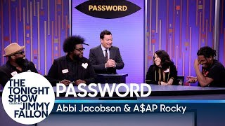 Password with Abbi Jacobson and A$AP Rocky