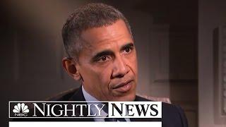 Obama: 'We See Disparities in How White, Black, Hispanic Suspects Treated' | NBC Nightly News