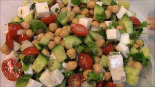 Healthy and Simple  Salad - Pakistani/Indian Cooking with Atiya