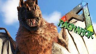 ARK Ragnarok Gameplay German - Dieses Vieh bringt uns alle um !!!
