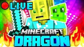 Das CHAOS KÖNIGREICH!! - Minecraft DRAGON LIVESTREAM (1/2)