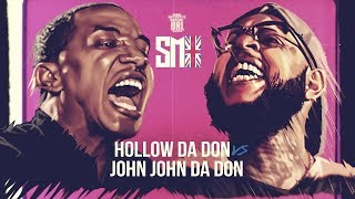 HOLLOW DA DON  VS JOHN JOHN DA DON RAP BATTLE  | URLTV
