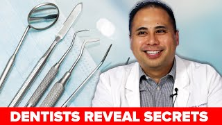 Dentists Reveal Secrets About Teeth Cleanings