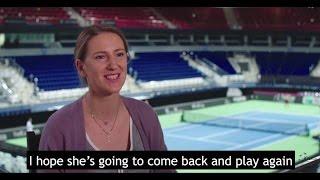 Victoria Azarenka speaks about Serena Williams