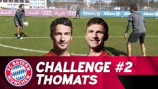 ThoMats #2   Two Touch Challenge   Müller vs. Hummels