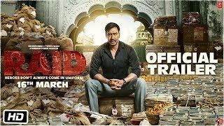 Raid | Official Trailer | Ajay Devgn | Ileana D