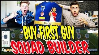 92 TOTS FALCAO BUY FIRST GUY BATTLE! ⚽⛔️😝 - FIFA 17 SQUAD BUILDER SHOWDOWN ULTIMATE TEAM (DEUTSCH)