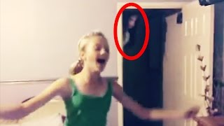 10 CREEPY Ghost Sightings Caught on Tape